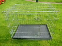 Large Dog Cage / Dog Crate As NEW