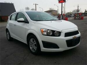 2013 Chevrolet Sonic LT, Excellent Condition, Loaded, Low km!
