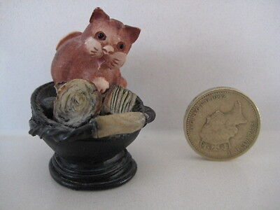 RARE ORIGINAL COLOUR BOX CAT PETER FAGAN HOME SWEET HOME HS613 COAL SKUTTLE