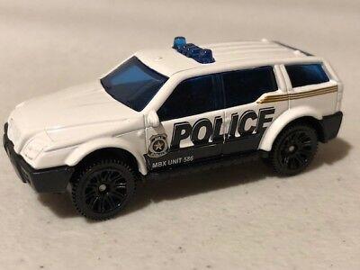Matchbox Sport SUV, Police, White, Loose, Very NICE, 1/64