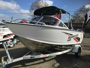 New Stacer 449 Sea Master with Mercury 60Hp 4-Stroke EFI Preston Darebin Area Preview