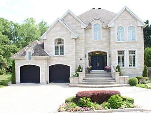 Luxury home DDO, Back to lake and park $ 1,498,000 open house
