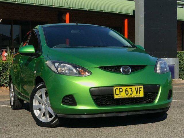 2008 Mazda 2 DE10Y1 Maxx Green Automatic Hatchback   Cars, Vans ...