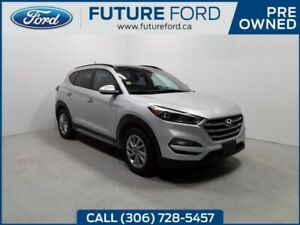 2017 Hyundai Tucson SE | AWD | HEATED LEATHER SEATS | TWIN PANNE