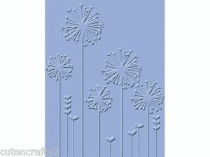 Craft Concepts Embossing Folder - Dandelion Whisper