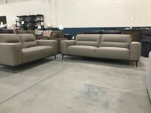 """""""JUST ARRIVED! Leather and Fabric Sofas LIMITED QUANTITIES!!!"""
