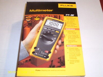 FLUKE Digital Multimeter 77 IV 77IV METER NEW BOX SALE