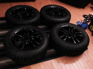 Four BFGoodwrich Winter Slalom KSI 205/65R15 W/ Mag Wheels