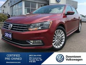 2016 Volkswagen Passat Premium Seating Surface, Sunroof, Alloy W