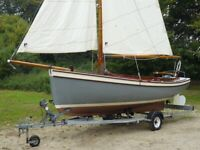17ft Day Sailor Boat - Northquay 17 Yacht
