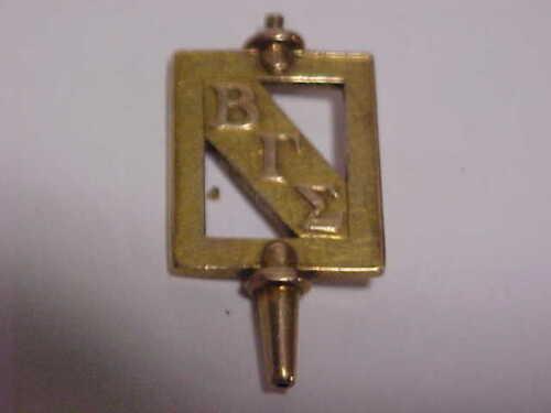 1921 Beta Gamma Sigma Fraternity Watch Key University of Georgia 10K gold