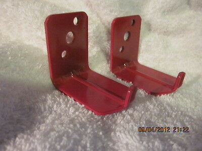 Lot Of 2-universal Wall Mount 10 15 20 Lb. Size Fire Extinguisher Bracket New