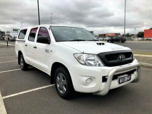 2011 Toyota Hilux KUN16R MY11 Upgrade SR 5 Speed Manual Dual Cab Pick-up