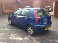 FIAT PUNTO 1.2 ACTIVE 5 DOOR - FULL NEW M.O.T - VERY GOOD CONDITION, DRIVES FANTASTIC