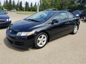 2009 Honda Civic Coupe, One Owner, No Accidents, Sunroof