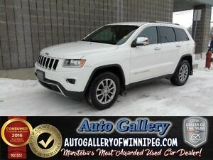 2014 Jeep Grand Cherokee LTD * 4x4/LTHR/NAV