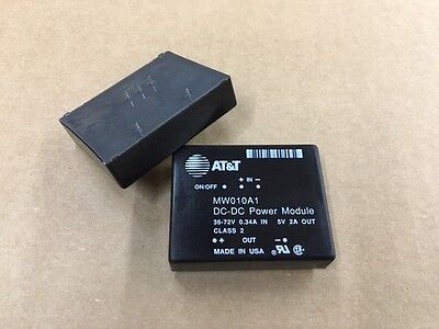Mw010a1 Att Isolated Dcdc Converter 5v 2a 10w 5-pin Connection