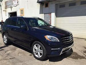 2013Mercedes ML350Bluetec,64kms,Navi,Pano roof,B.spot syst,MINT!