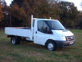 Ford Transit 2.4 tdci 100ps dropside low miles air con
