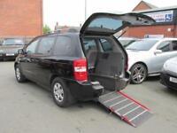 Wheelchair car Kia Sedona petrol, disabled access, disability car, mobility, WAV