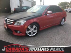 2009 Mercedes-Benz C-Class 3.0L 3.0L LOADED, SUNROOF, H/K Audio