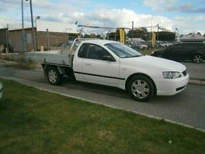 2005 Ford Falcon White Automatic Trayback Maddington Gosnells Area Preview