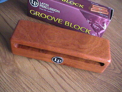 LATIN PERCUSSION LP685 LARGE GROOVE BLOCK - NEW IN CARTON!