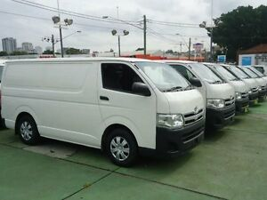2012 Toyota Hiace KDH201R MY12 Upgrade LWB White 4 Speed Automatic Van Canada Bay Canada Bay Area Preview