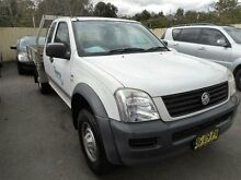 2006 Holden Rodeo RA MY06 Upgrade LX White 5 Speed Manual Spacecab Edgeworth Lake Macquarie Area Preview