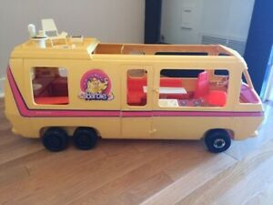 Barbie Yellow Vintage Motorhome (Camper)
