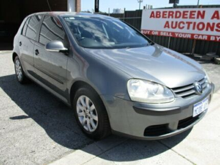 2007 Volkswagen Golf 1K 2.0 TDI Comfortline Grey 6 Speed Manual Hatchback