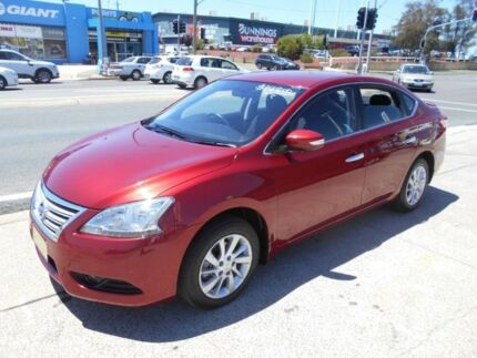 2014 Nissan Pulsar B17 ST-L Maroon 1 Speed Constant Variable Sedan Fyshwick South Canberra Preview