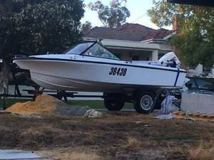 Voyager Runabout Boat 15ft Floreat Cambridge Area Preview