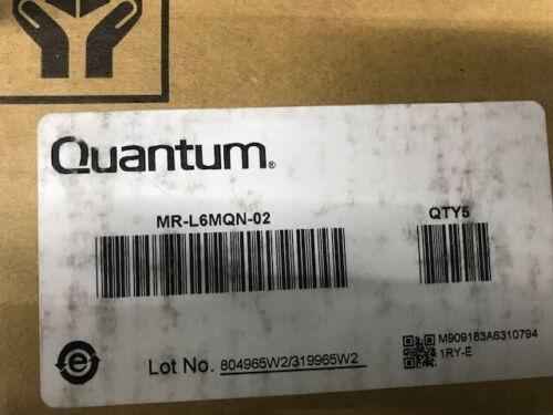 QUANTUM MR-L6MQN-02 LTO ULTRIUM 6 (BACKUP TAPE CARTRIDGE (5 PACK)