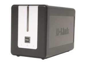 D-Link 2 Bay NAS Storage