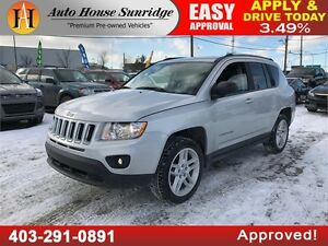 2012 Jeep Compass Limited 4X4 LEATHER HEATED SEATS LOW KM!!!