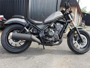 2018 Honda Rebel with ABS. 1 left in stock! $39 weekly!