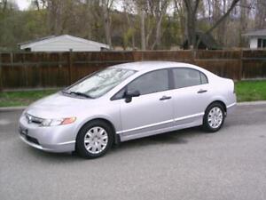 2007 Honda Civic Sdn DX-G - Manual Transmission
