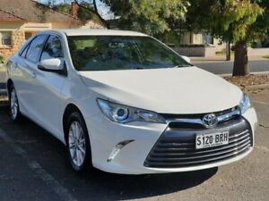 2017 Toyota Camry ASV50R Altise White 6 Speed Sports Automatic Sedan Prospect Prospect Area Preview