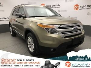 2013 Ford Explorer XLT Multi-terrain 4WD - Heated Seats - 7 Pass