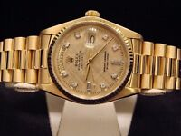 Gold Rolex president day date lovely watch going cheap
