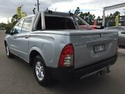 2007 Ssangyong Actyon Sports Q100 Silver 4 Speed Automatic Double Cab Utility Blacktown Blacktown Area Preview
