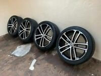 Genuine Volkswagen GTD Alloys alloy Wheels 225/40/18