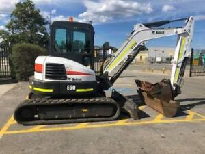 BOBCAT E50 COMPACT EXCAVATOR - RBP2026 Kenwick Gosnells Area Preview
