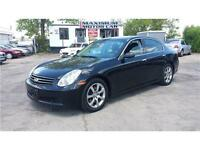 2005 Infiniti G35 Sedan Luxury - LOADED+CERTIFIED