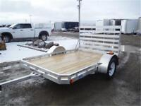 6.5 X 10 ALUMINUM UTILITY TRAILER! TAX IN PRICES, EVERYDAY!