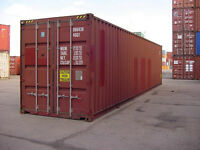 20' & 40' Used Shipping Storage Containers Available for Sale