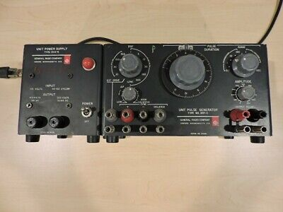 Vintage General Radio Company Unit Power Supply Type 1203-b
