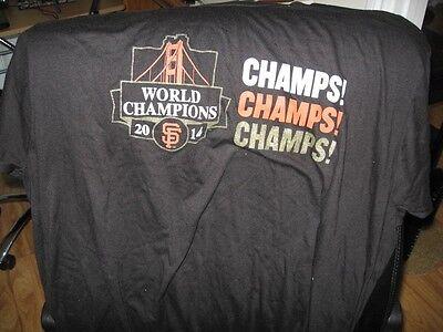 Sf Giants 2014 World Champions Shirt Xl Sga 6 02 15 Stub Hub