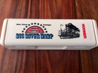 HOHNER 'BIG RIVER' (MOUTH) HARP (KEY OF G) BRAND NEW IN BOX